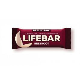 Lifefood Lifebar - červená řepa RAW/BIO (47 g)