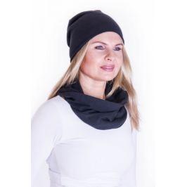 Meera Design Elegantní nákrčník Minerva - černý Udržitelná móda od Meera Design