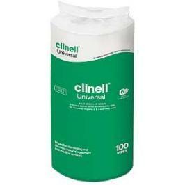 Zvlhčené dezinfekční utěrky CLINELL Universal sanitizing 100 ks - náplň