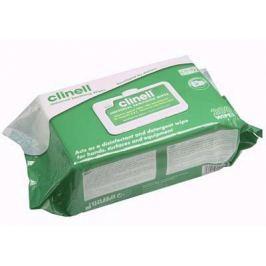 Zvlhčené dezinfekční utěrky CLINELL Universal Sanitizing 200 ks