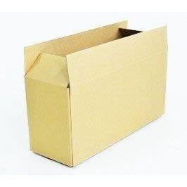Krabice z třívrstvého kartonu 44 x 20,5 x 15 cm klopová