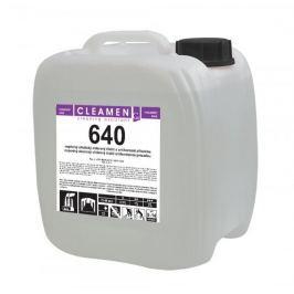 CLEAMEN 640 nepěnivý alkalický chlorový čistič s antikorozní přísadou 11 kg