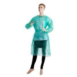 Jednorázový návštevnický plášť 10 ks - zelený