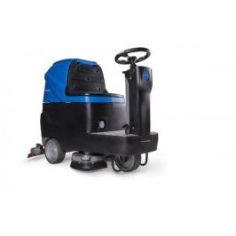 Podlahový mycí stroj Bohman B7 se sedící obsluhou - bateriový