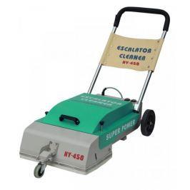 Čistič eskalátorů - čistící stroj na eskalátory