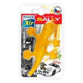 Moderní plastový osvěžovač ještěrka - žlutý