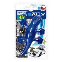 Moderní plastový osvěžovač ještěrka - modrý
