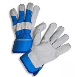 Kombinované ochranné rukavice z hovězí štípenky - velikost 11