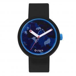 Obag O CLOCK CIFERNÍK MANILA CAMOUFLAGE OTTANIO A O CLOCK PÁSEK ČERNÝ Velikost: M (obvod 18 cm)
