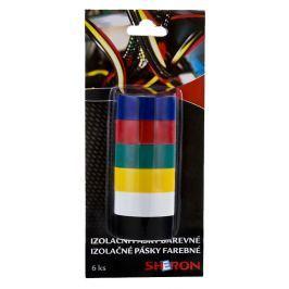 SHERON Pásky izolační barevné 6 ks