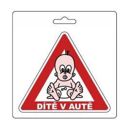 COMPASS Označení dítě v autě
