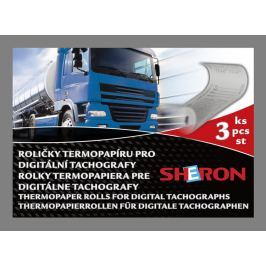 SHERON kotoučky do tachografu 125 km/h UNI