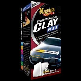 Meguiars Smooth Surface Clay Kit - sada pro dekontaminaci laku