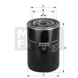 Filtr olejový MANN MF W719/3