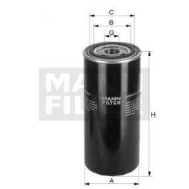 Filtr automatické převodovky MANN MF WD920/3