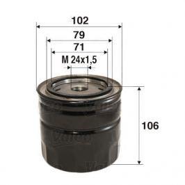 Olejový filtr 586025