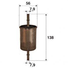 palivovy filtr 587001
