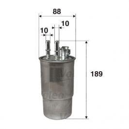 palivovy filtr 587522