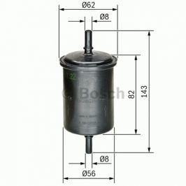 Palivový filtr BOSCH BO 0450902161 0 450 902 161 BOSC