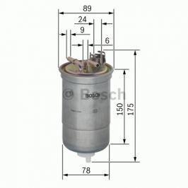Palivový filtr BOSCH BO 0450906267 0 450 906 267 BOSC