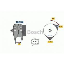 Alternátor BOSCH-výměnný díl BO 0986049950