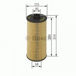 Olejový filtr Robert Bosch GmbH 1 457 429 128 BOSC