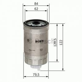 Palivový filtr BOSCH BO 1457434435