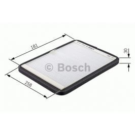 Robert Bosch GmbH Kabinový filtr s aktivním uhlím BOSCH BO 1987432313