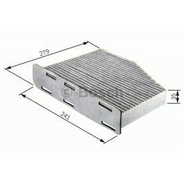 Robert Bosch GmbH Kabinový filtr s aktivním uhlím BOSCH BO 1987432369 1 987 432 369 BOSC