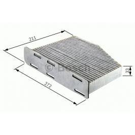 Robert Bosch GmbH Kabinový filtr s aktivním uhlím BOSCH BO 1987432397 1 987 432 397 BOSC