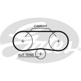 GATES Rozvodový řemen GATES (58 x 17) GT 5516XS 5516XS GAT