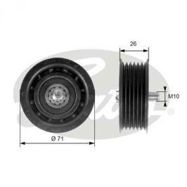 Vratná/vodicí kladka, klínový žebrový řemen GATES GT T36261 T36261 GAT