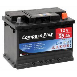 Compass Autobaterie  PLUS 12V 55Ah 420A