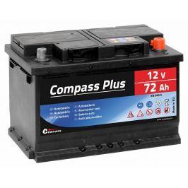 Compass Autobaterie  PLUS 12V 72Ah 640A