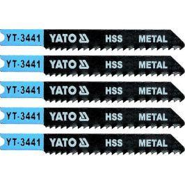 Yato List pilový do přímočaré pily 70 mm na kov TPI12 5 ks