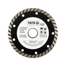 Yato Kotouč diamantový 125 x 22,2 x 2,6 mm turbo