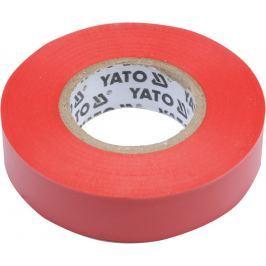 Yato Izolační páska elektrikářská PVC 15mm / 20m červená