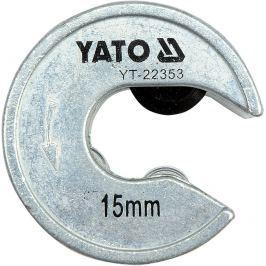 Yato Řezač trubek 15 mm PVC, Al, Cu