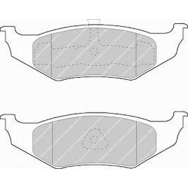 Brzdové destičky FERODO PREMIER FE FDB1099