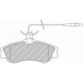 Brzdové destičky FERODO PREMIER FE FDB1112