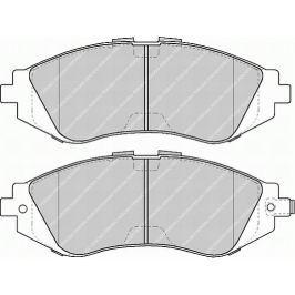 Brzdové destičky FERODO PREMIER FE FDB1116