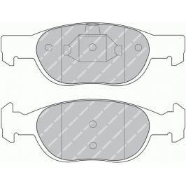 Brzdové destičky FERODO PREMIER FE FDB1160
