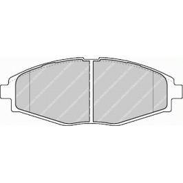 Brzdové destičky FERODO PREMIER FE FDB1337