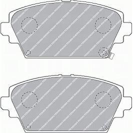 Brzdové destičky FERODO PREMIER FE FDB1439