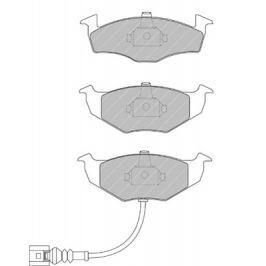 Brzdové destičky FERODO PREMIER FE FDB1634