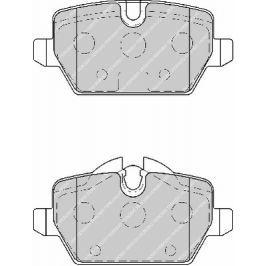 Brzdové destičky FERODO PREMIER FE FDB1806