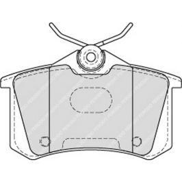 Brzdové destičky FERODO PREMIER FE FDB4178