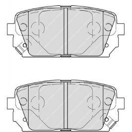 Brzdové destičky FERODO PREMIER FE FDB4193