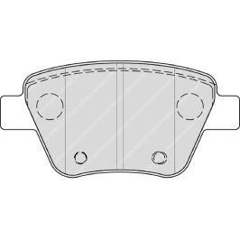 Brzdové destičky FERODO PREMIER FE FDB4316