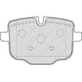 Brzdové destičky FERODO PREMIER FE FDB4381